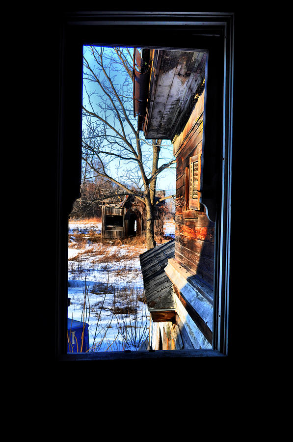 Window Photograph - Opened by Emily Stauring