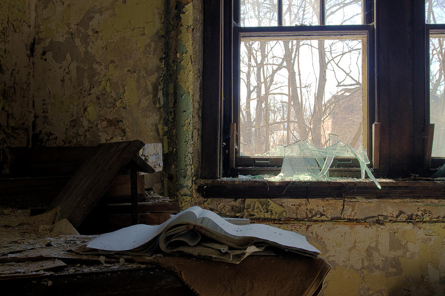 Abandonment Photograph - Opened by Kevin Brett