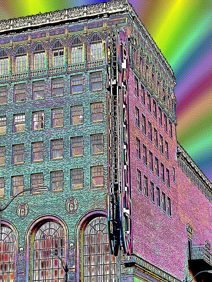 Paramount Digital Art - Opening Night by Tim Allen