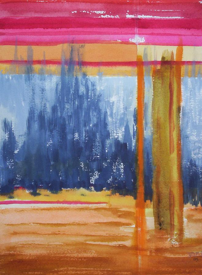 Landscape Painting - Opening by Suzanne Udell Levinger