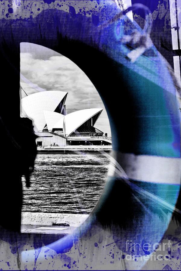 Sydney Photograph - Opera House Rescue by Az Jackson