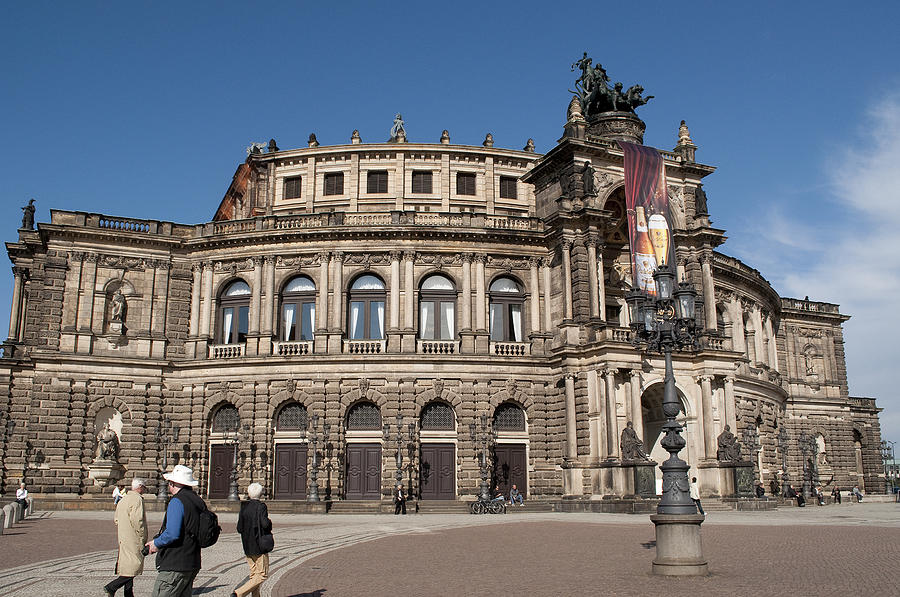 Dresden Germany Photograph - Opera2071 by Charles  Ridgway