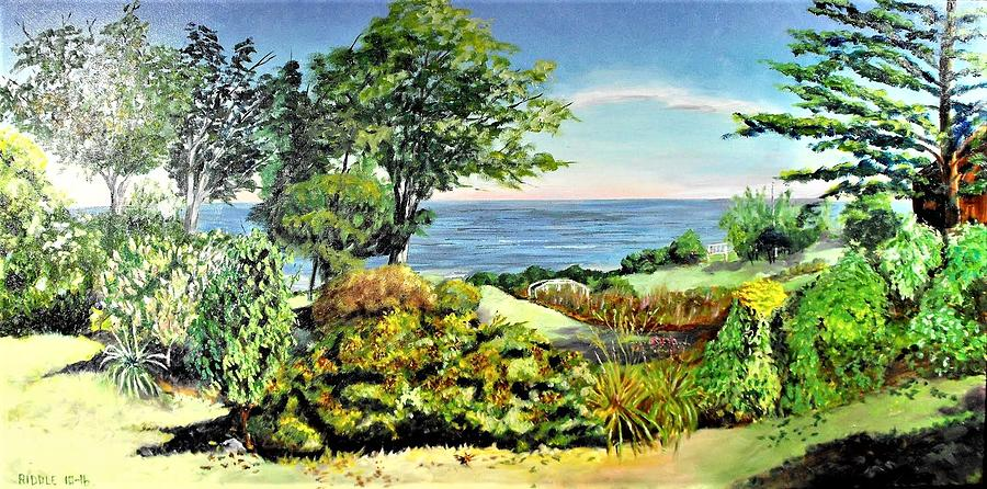 Maine Coast Painting - Operaland Farewell by Jack Riddle