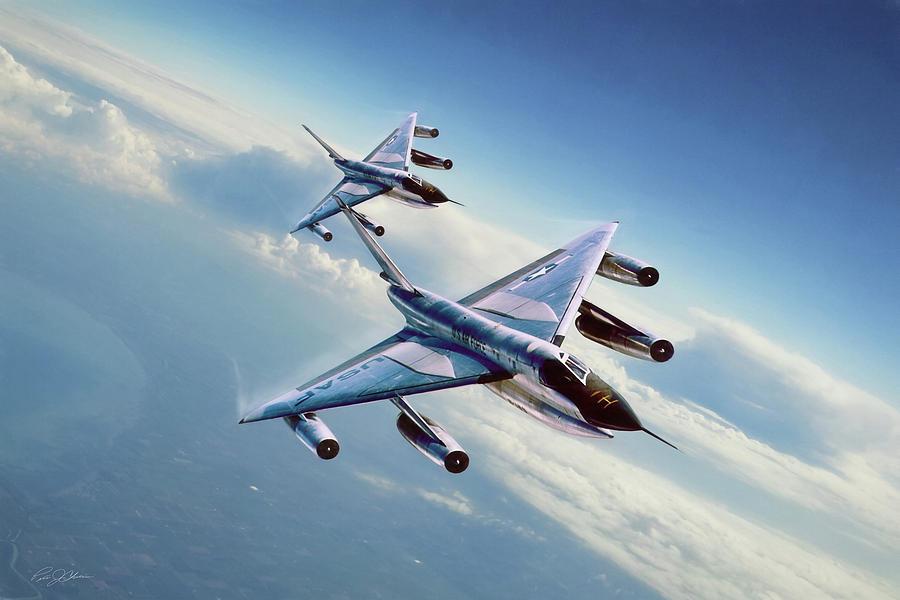 Aviation Digital Art - Operation Heat Rise by Peter Chilelli