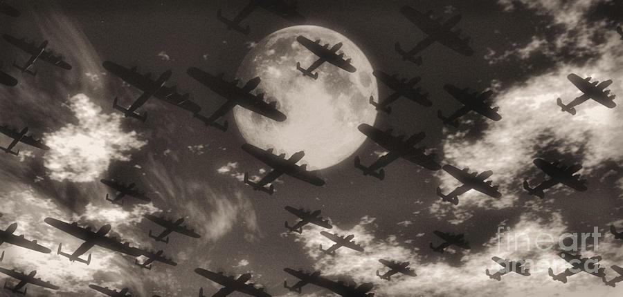 Flight Digital Art - Operation Moonlight by Richard Rizzo