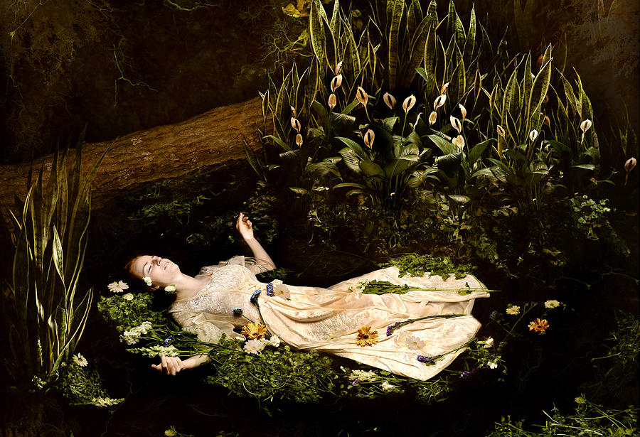 Ophelia Photograph - Ophelia by Jacquie Thuemler
