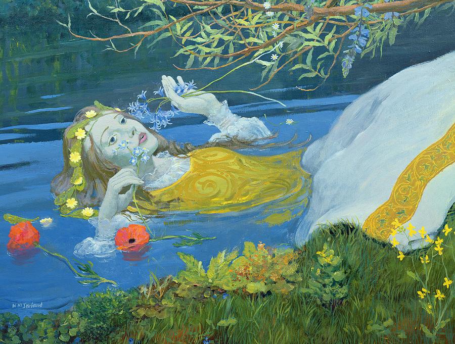 Ophelia Painting - Ophelia by William Ireland