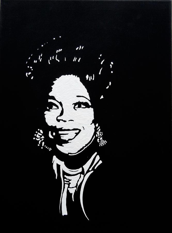 Oprah Mixed Media