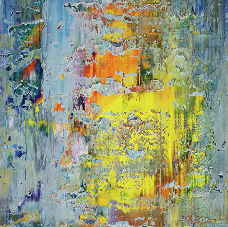 Derek Kaplan Art Painting - Opt.66.16 A New Day by Derek Kaplan