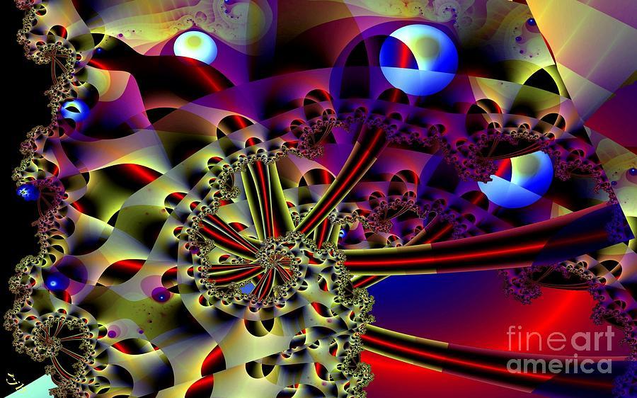 Optic Digital Art - Optic Nerves by Ron Bissett
