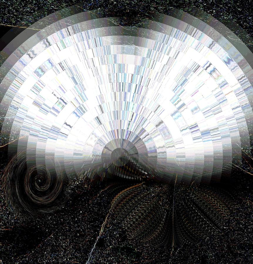 Optical Illusion Mixed Media