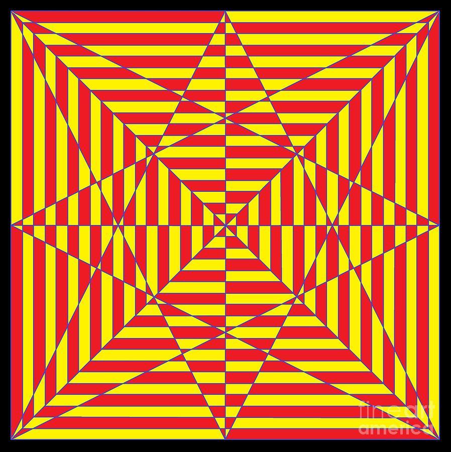 Optical Maze Digital Art