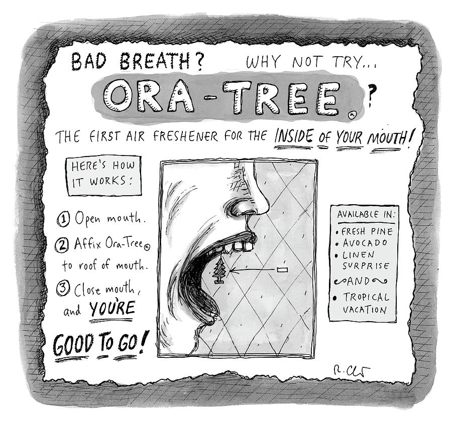Ora Tree Drawing by Roz Chast