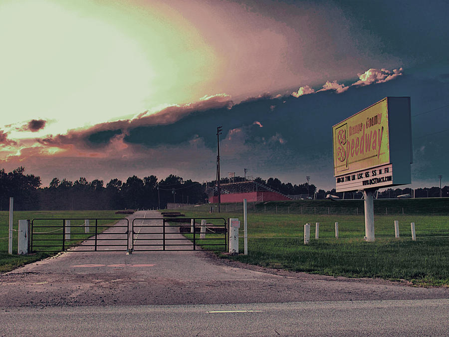 Orange County Speedway Photograph - Orange County Speedway by David A Brown