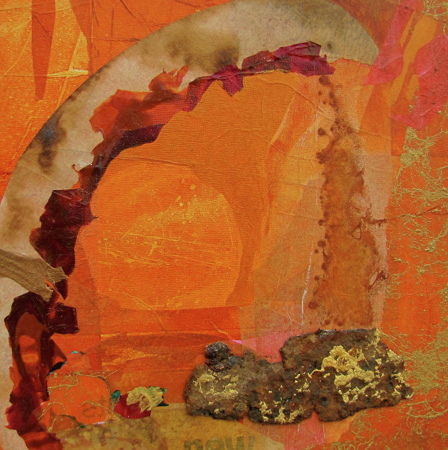 Orange Painting - Orange Day by Carole Johnson