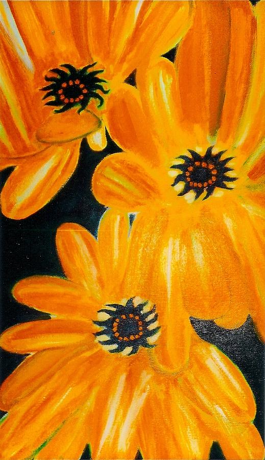 Orange Delight Painting by Robert Bray