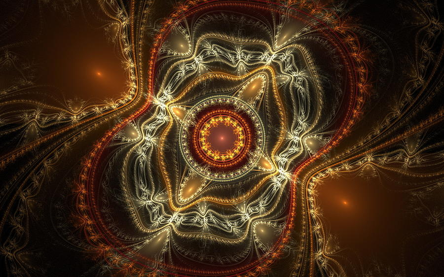 Orange Digital Art - Orange by Dorothy Binder