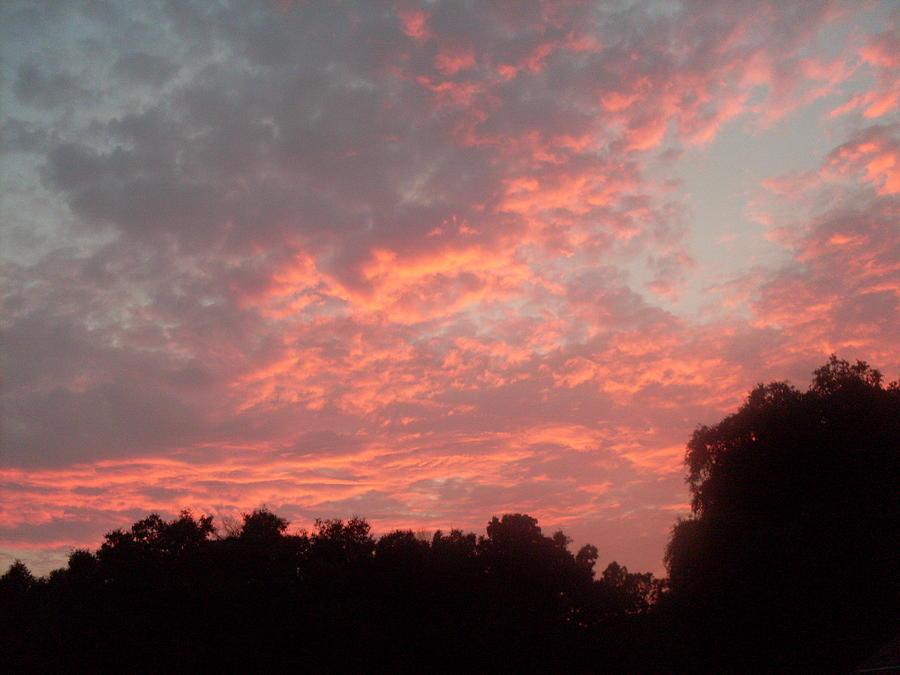Sunset Photograph - Orange Florida Sunset by Warren Thompson