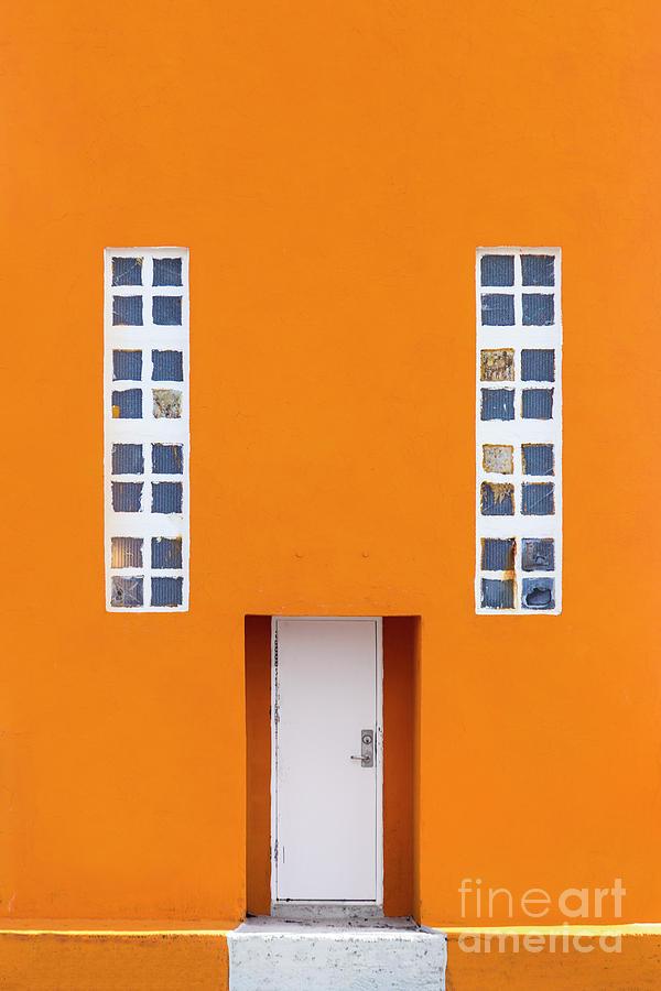 Orange Happy Photograph