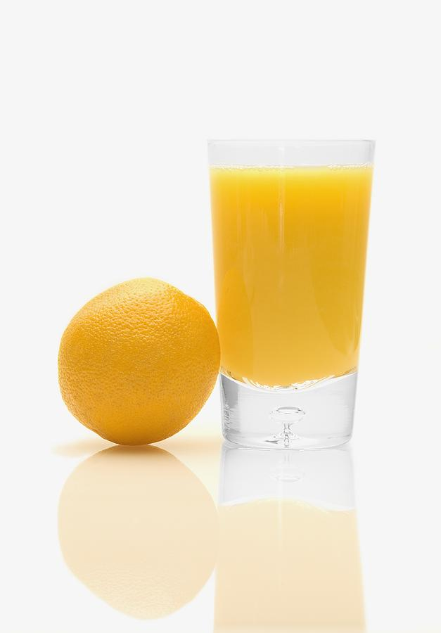 Beverages Photograph - Orange Juice by Darren Greenwood