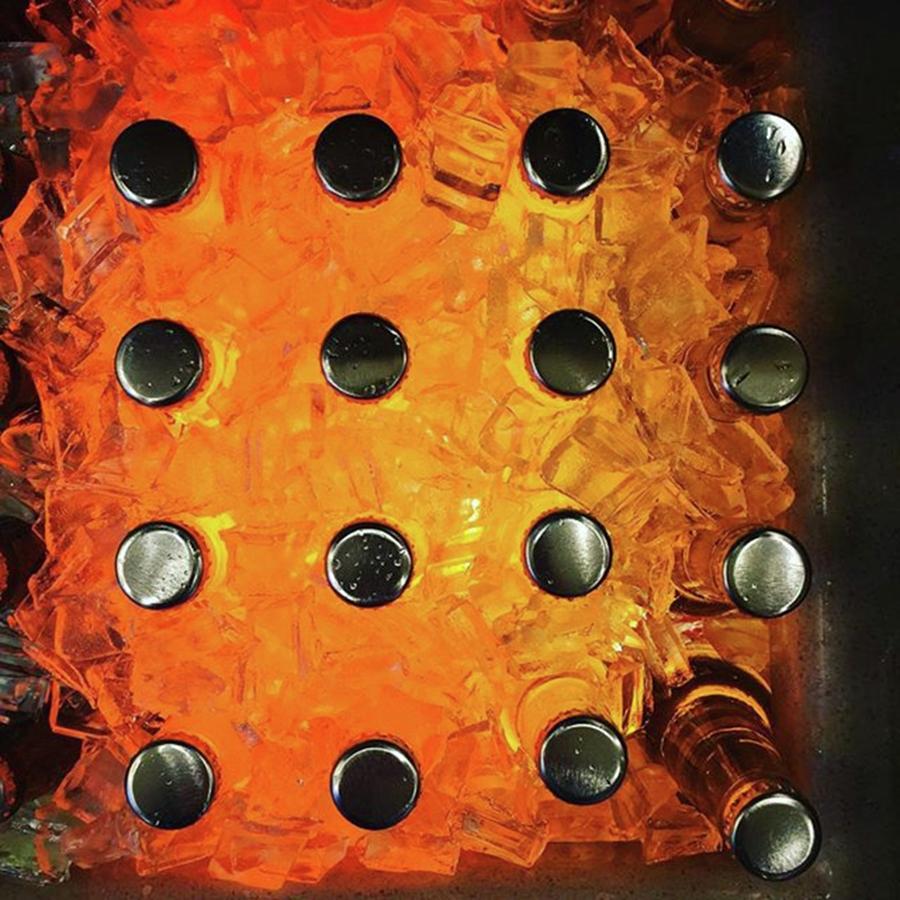 Symmetry Photograph - Orange Pop! #orange #pop #sodapop by Ginger Oppenheimer