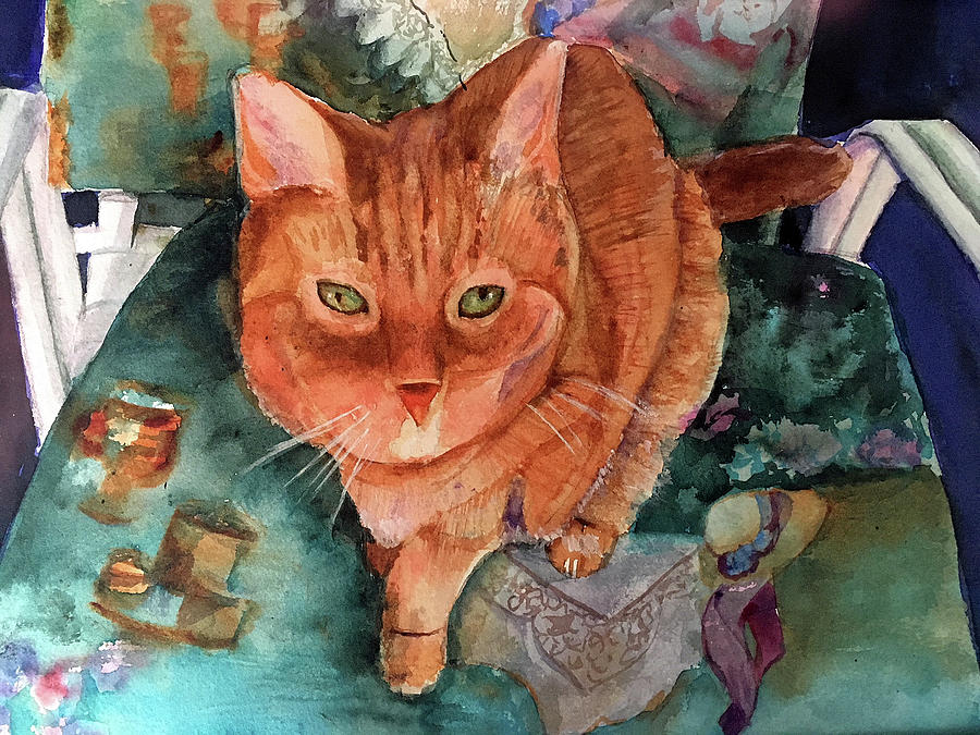 Orange Tabby by Lynne Atwood