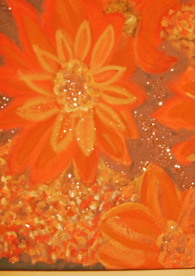 Orange Painting - Orange You Glad You Like Orange by Anne-Elizabeth Whiteway