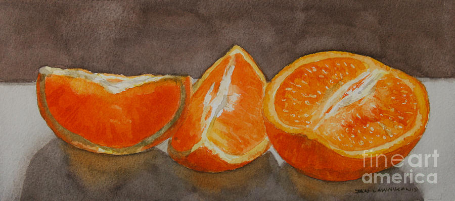 Oranges Study by Jan Lawnikanis