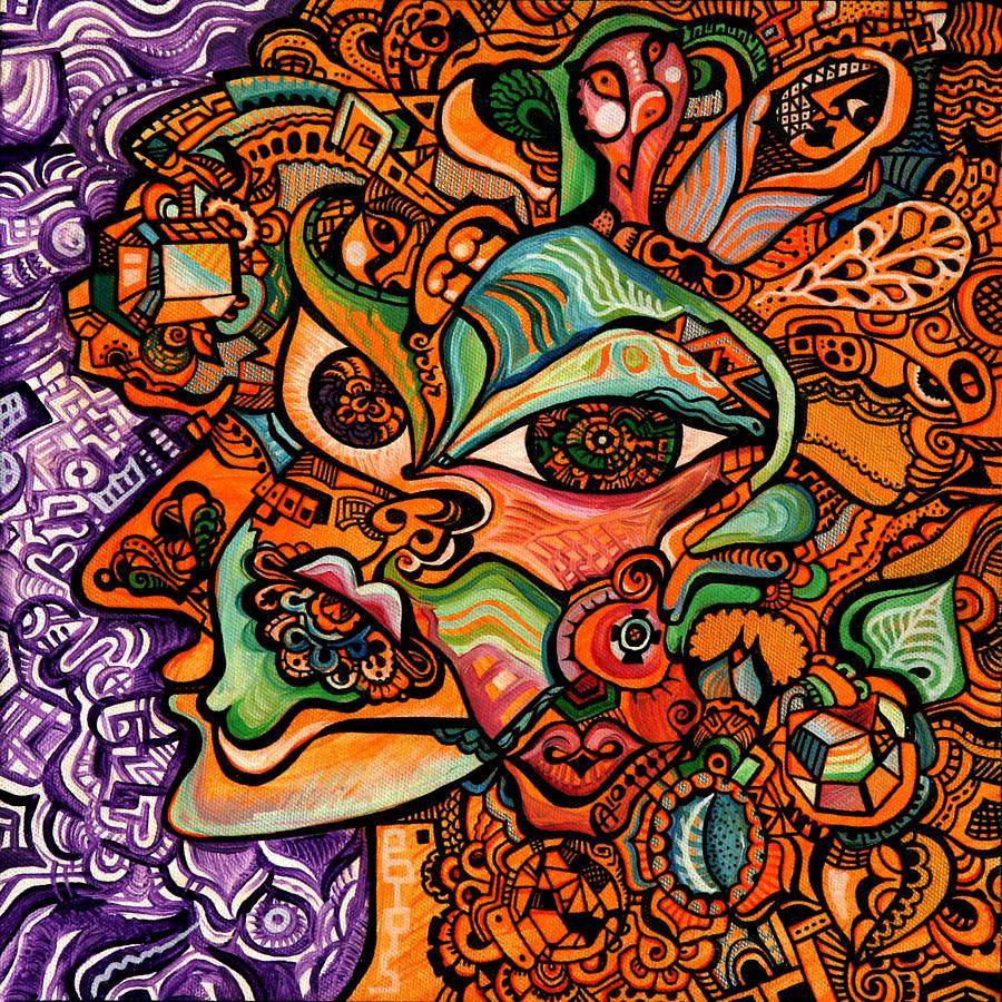 Orangina Painting by Alex Arshansky