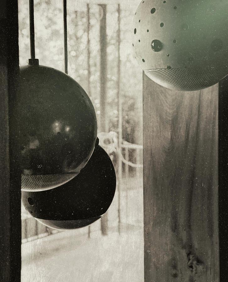 Light Photograph - Orbiting Orbs by JAMART Photography