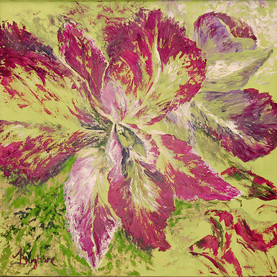 Gift Painting - Orchid by Aneta  Berghane