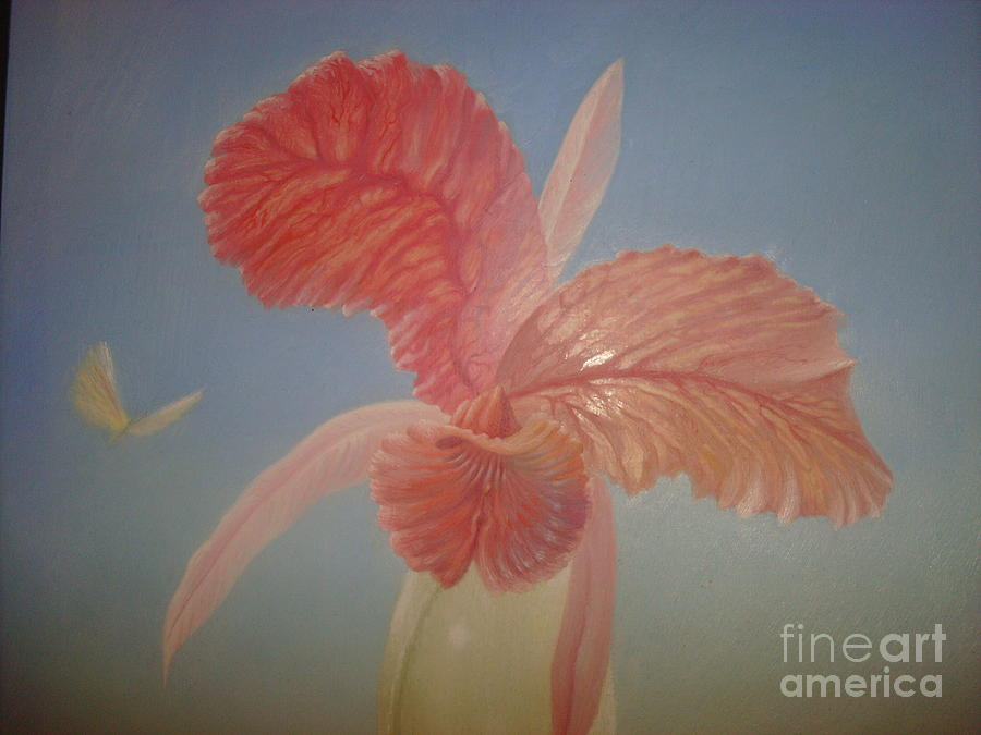Orchid Painting - Orchid by Denis Hmylnin
