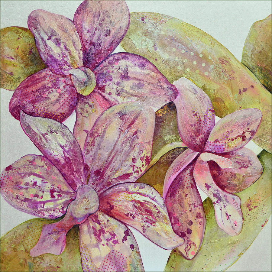 Orchid Envy Painting