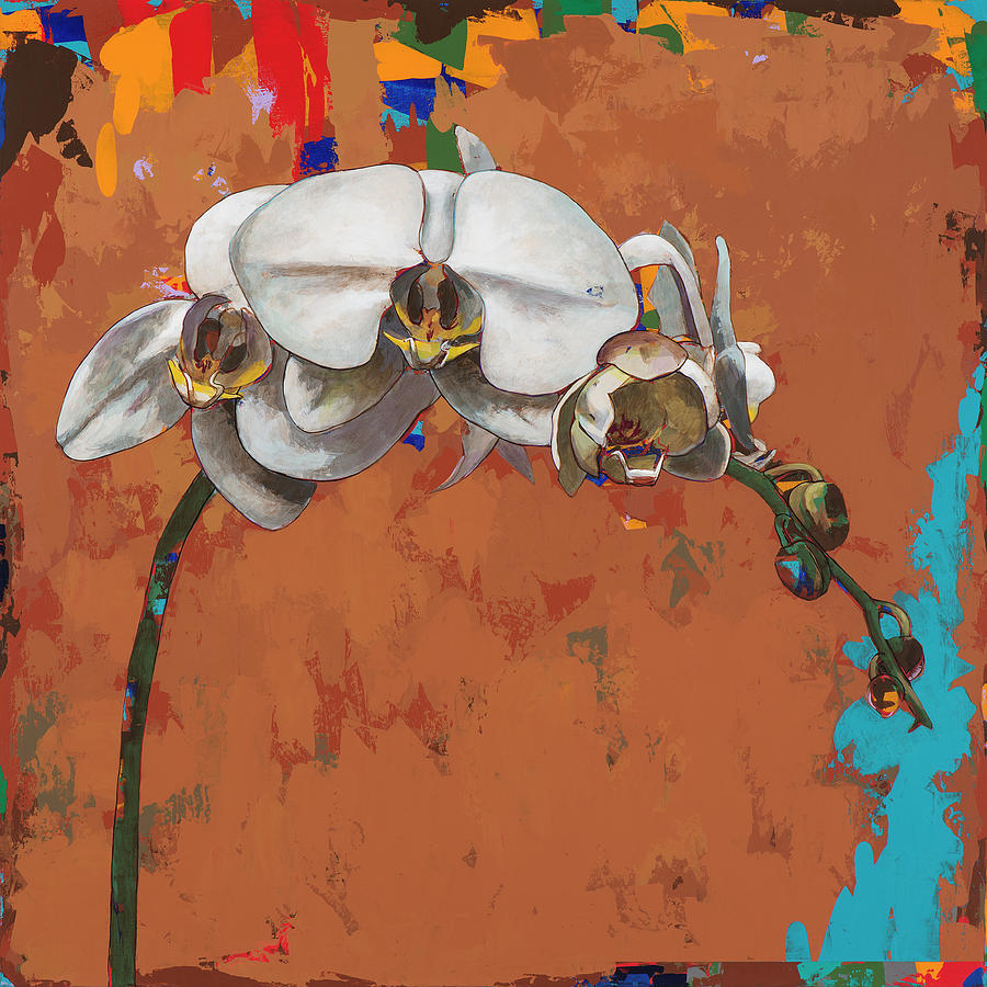 Orchid Painting - Orchids #4 by David Palmer