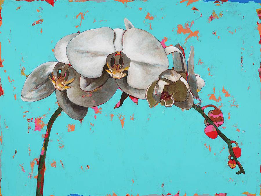 Orchid Painting - Orchids #5 by David Palmer
