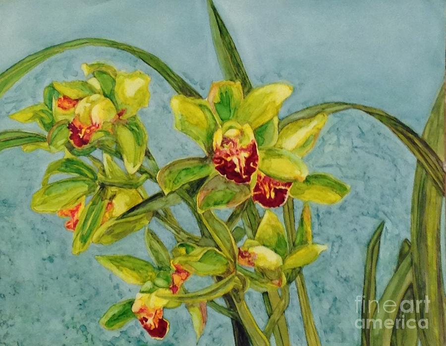 Orchids I by Vicki Baun Barry