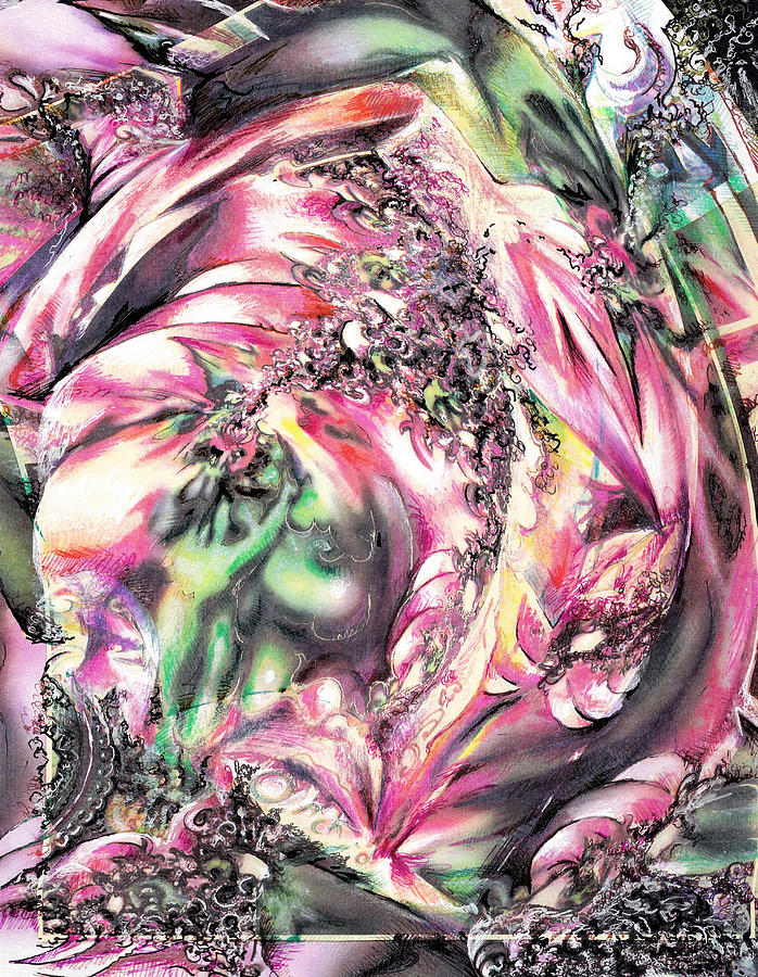 Orchids Painting by Jeremy Robinson