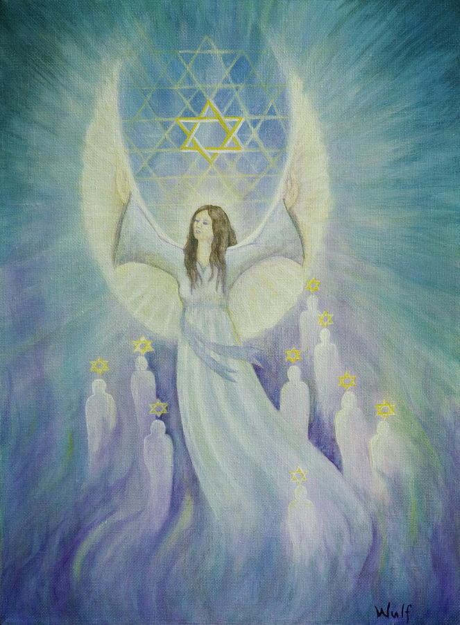 Melchizedek Painting - Order Of Melchizedek  by Bernadette Wulf