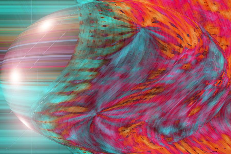 World Digital Art - Order Of The Universe by Linda Sannuti