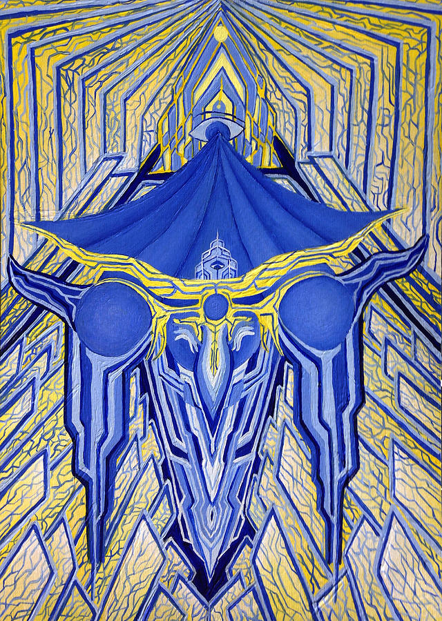 Latin Painting - Ordo Ab Chao by Maxwell Hanson