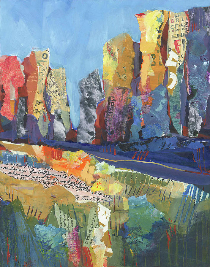 Oregon Painting - Oregon Canyon by Shelli Walters