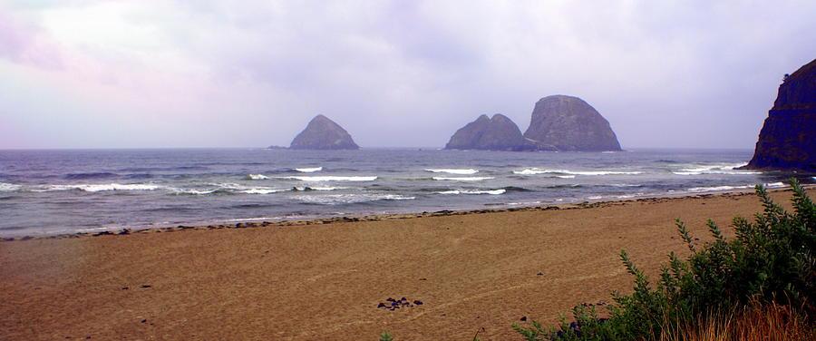 Ocean Photograph - Oregon Coast 1 by Marty Koch