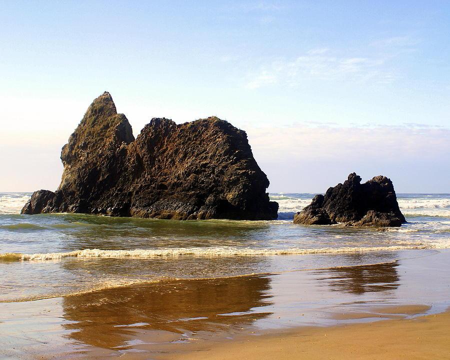 Ocean Photograph - Oregon Coast 10 by Marty Koch