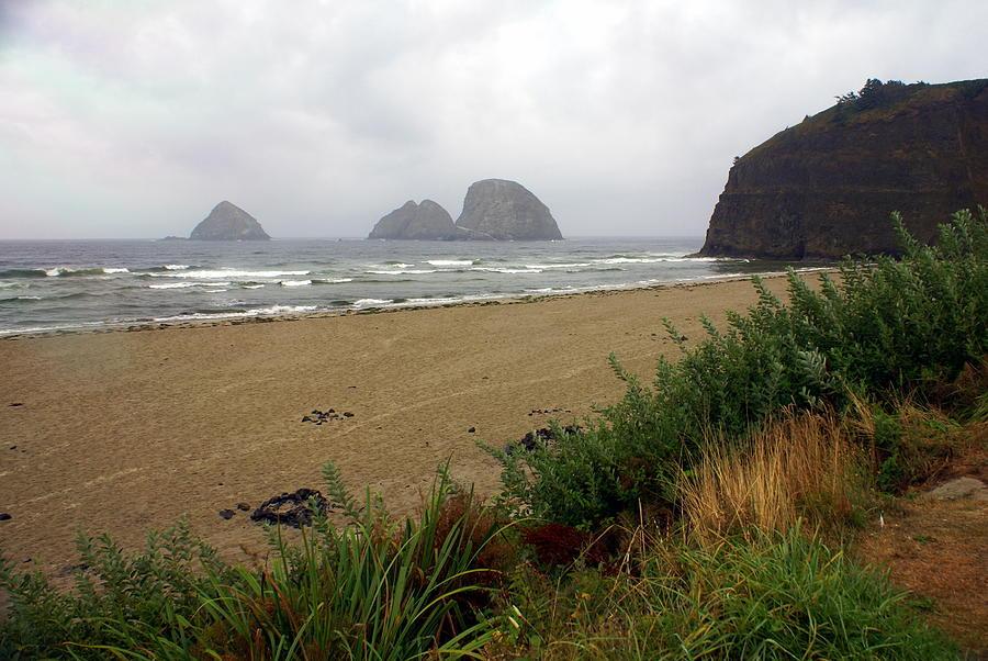 Ocean Photograph - Oregon Coast 2 by Marty Koch