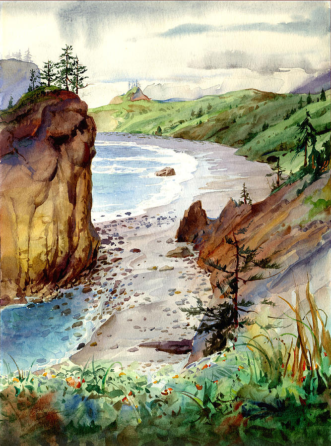 Oregon Coast #3 by John Norman Stewart