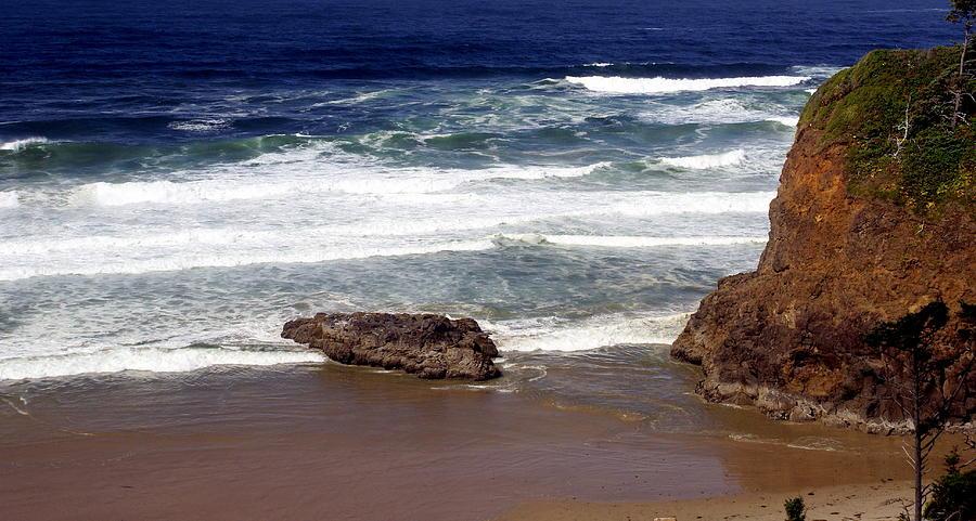 Ocean Photograph - Oregon Coast 6 by Marty Koch