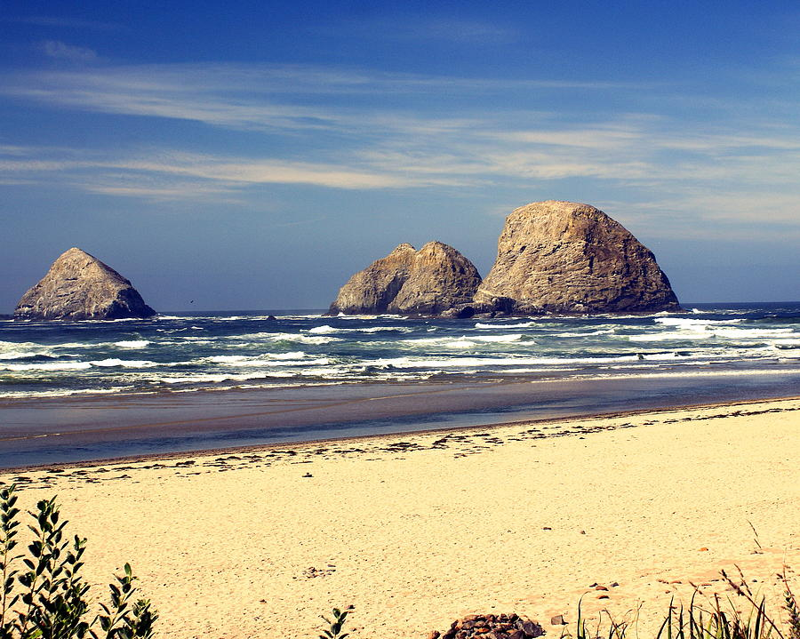 Ocean Photograph - Oregon Coast 7 by Marty Koch