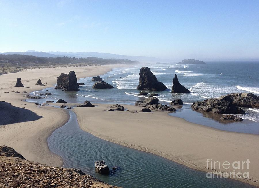 Oregon Coast Sea Stacks by Barbara Von Pagel