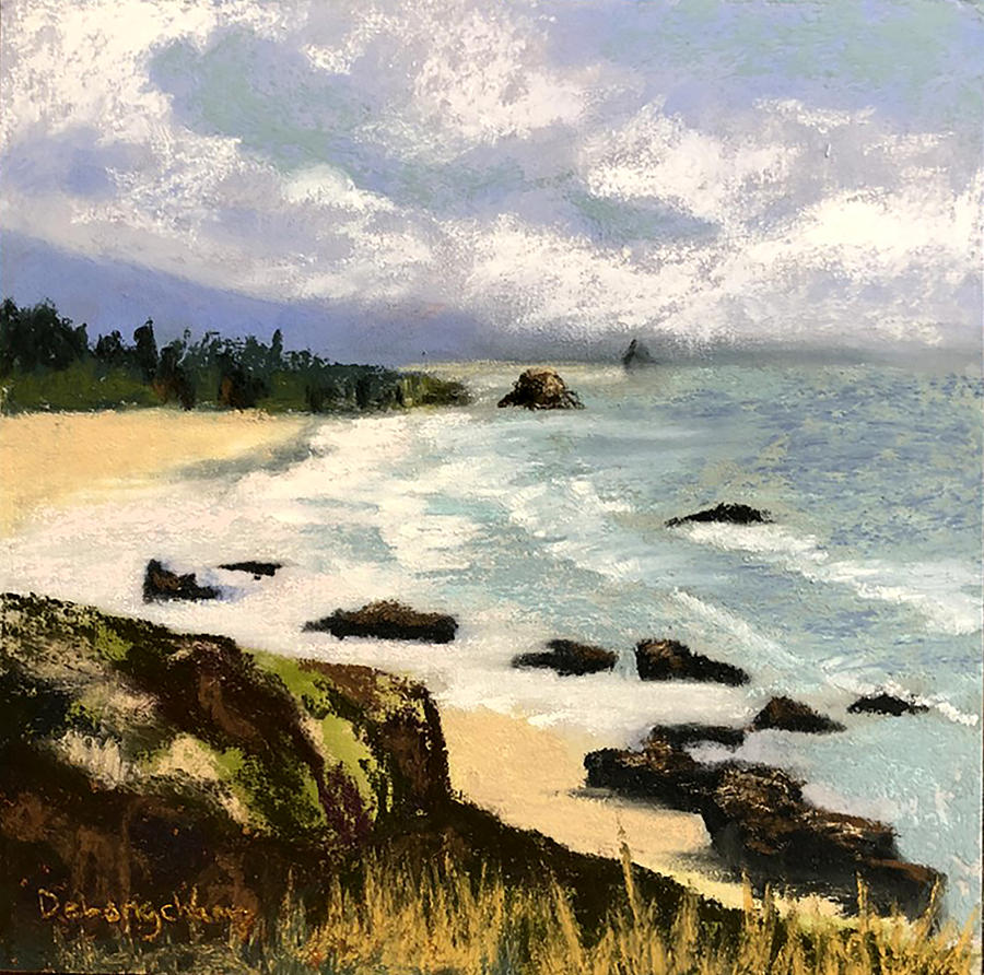 Oregon Seascape by Gerry Delongchamp