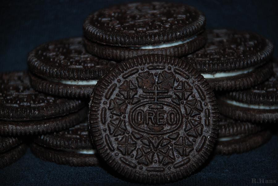 Oreo Photograph - Oreo Cookies by Rob Hans